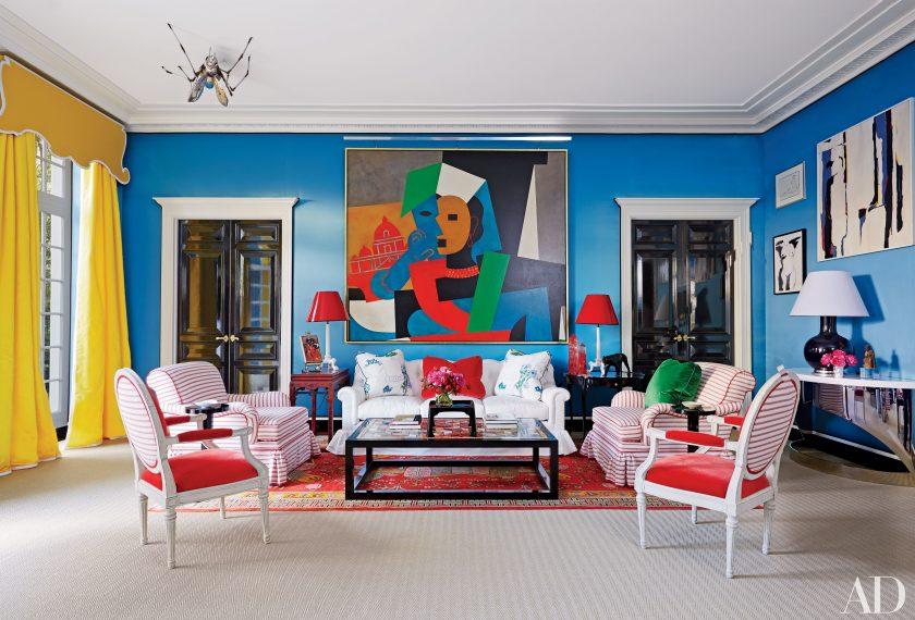 interior design colori accesi